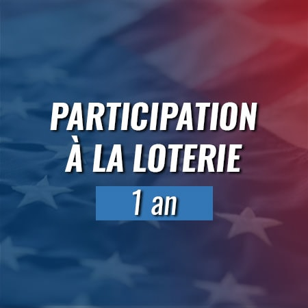 Participation à la loterie Green Card 1 an