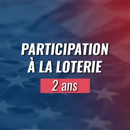 Participation à la loterie Green Card 2 ans